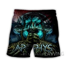 New Fashion Women/Men's 3D Print  Apophys-Band  Summer Beach Shorts  Streetwear Men Quick Dry Vacati