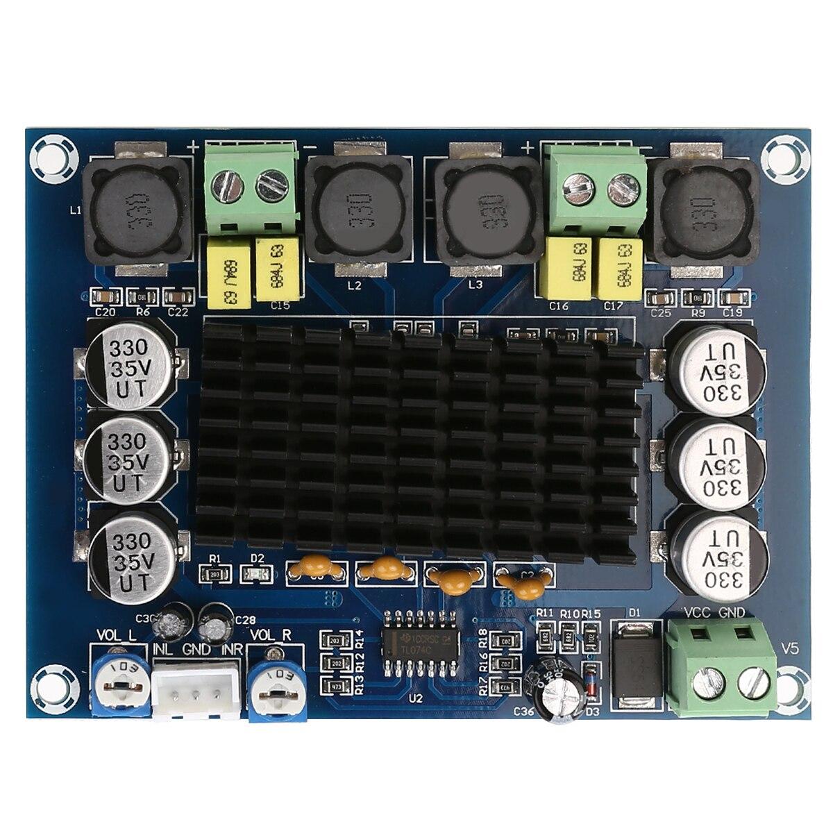 Placas de Amplificador 120w + 120 Mais Novo Alto-falante Alta Qualidade d2 Duplo Canal Estéreo Placa Amplificador Áudio Digital Tpa3116