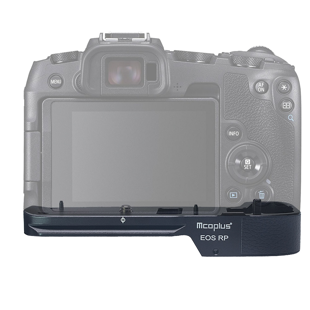 Mcoplus EOSRP Aluminum alloy Holder Hand Grip for Canon EOSRP Camera as EG-E1 for Benro Arca Swiss Tripod Head