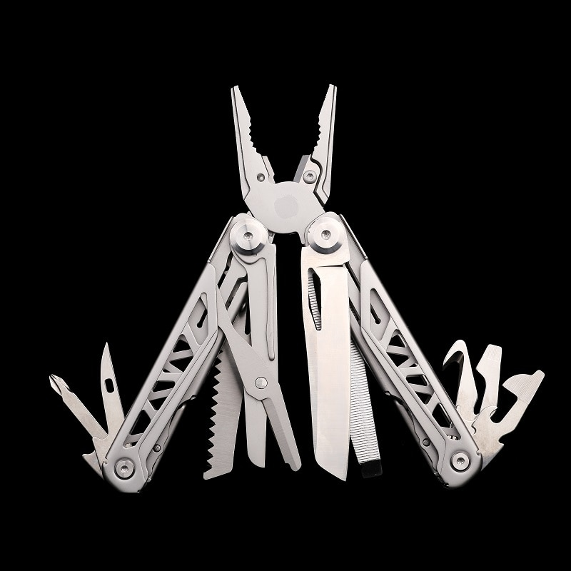 Splitman Multi Tool Folding Knife Plier Multitools Survival Knives Camping Fishing Folding Pliers EDC Gear 440A Stainless Steel splitman brand new multi tool folding knife plier multitools multifunctional edc tools outdoor camping survival scissors