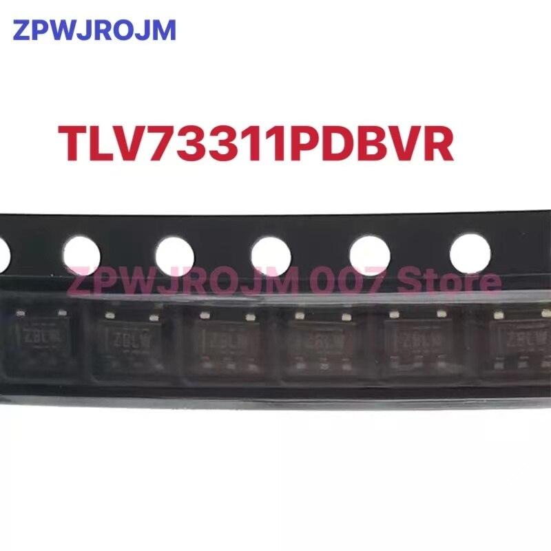 10 pçs/lote TLV73311PDBVR TLV73311PDBVT SOT-23-5 TLV73311 SOT23-5 Código: ZBLW linear regulador de tensão nova marca original