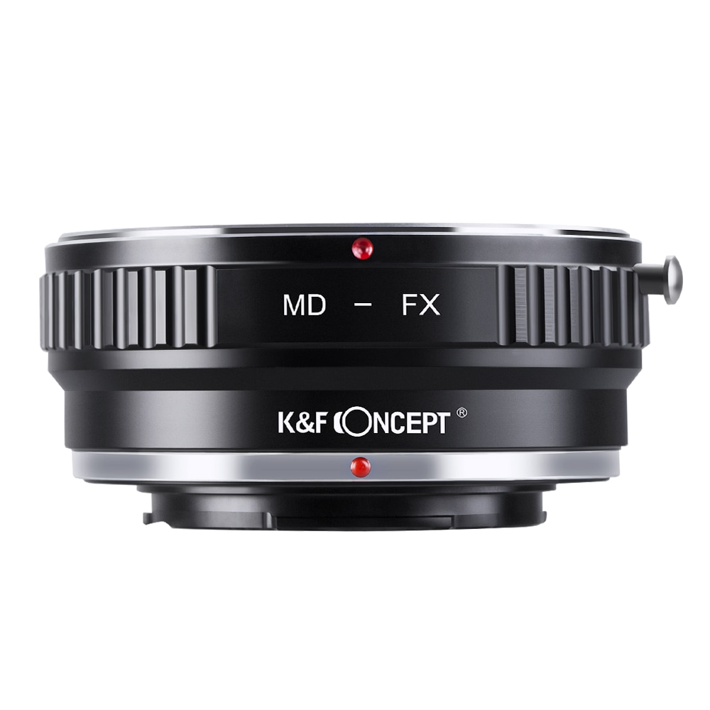 K&F CONCEPT MD-FX Camera Lens Adapter Ring For Minolta MD MC Mount Lens to for Fujifilm X Mount X-Pro1 Camera Body lr fx leica r lens to fujifilm x pro1 mount adapter black