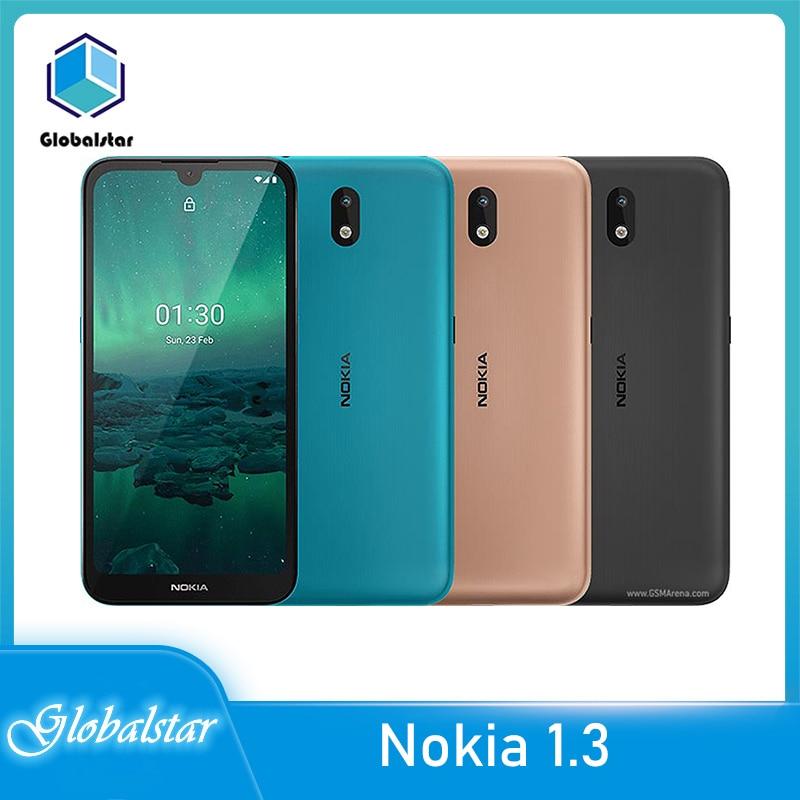 Перейти на Алиэкспресс и купить Nokia 1,3 Восстановленный Оригинальный Nokia 1,3 GPS WIFI FM радио Bluetooth большой экран телефон один год гарантии Бесплатная доставка
