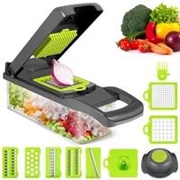 multifunctional vegetable cutter slicer fruit potato peeler carrot grater shredders drain basket kitchen accessories utensils