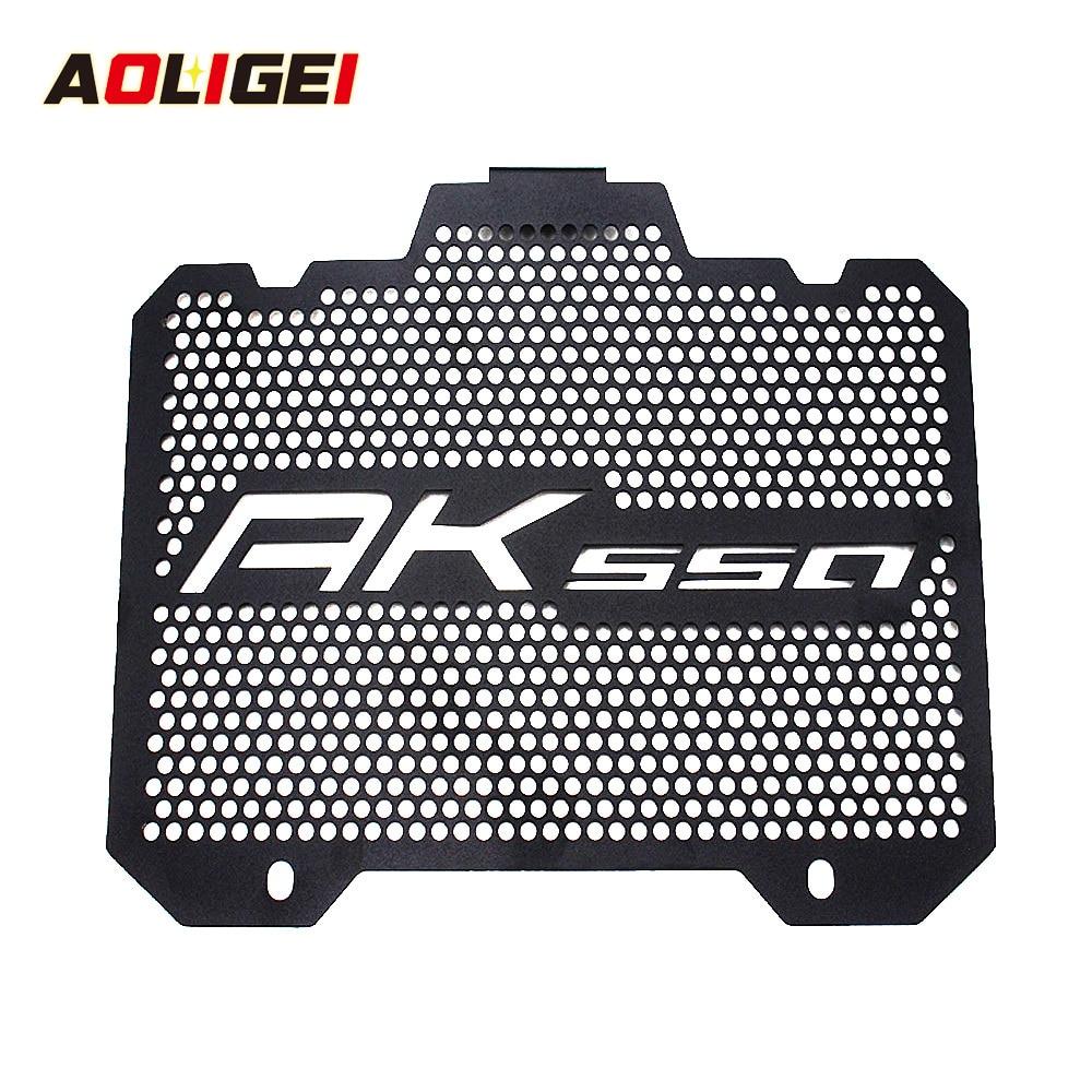 AK550 2018 2017 Accesorios Moto Scooter partes radiador Protector rejilla cubierta AK 550 para KYMCO nuevo accesorio de motocicleta