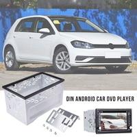 2 Din Fittings Kit Radio Head Unit Installation Frame General 2Din Fittings Kit Automotive Radio Player Box