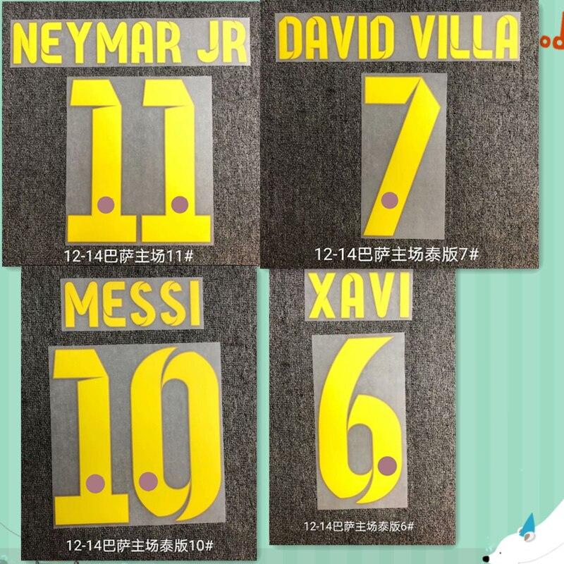 Impresión de fuente del número de Barcelona, Super A Retro, 2012, 2013,...