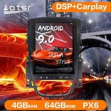 Android 9 4GB + 64GB PX6 Tesla Stil Auto Radio GPS Navigation Für Opel Astra J 2009-2016 Auto Stereo Auto Player Kopf Einheit WIFI BT