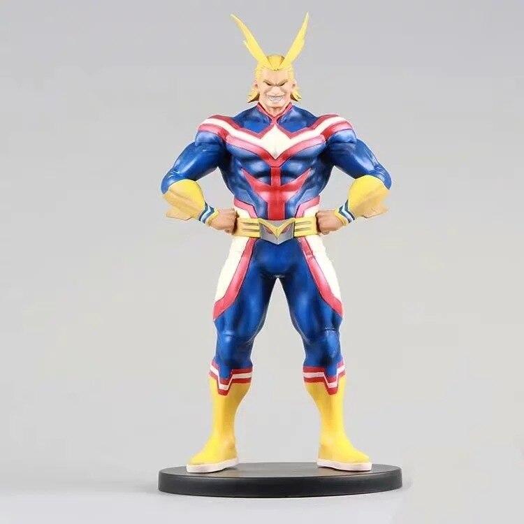 Figuras de acción de My Hero Academia, All Might, figura de Boku no Hero Academia de Anime, All Might Diorama, 200mm