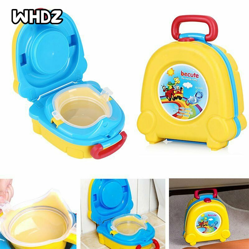 0-6 Years Old Children's Potty Portable Travel Plastic Potty Infant Baby Toilet Seat Boys And Girls Potty Trainer Seat WC