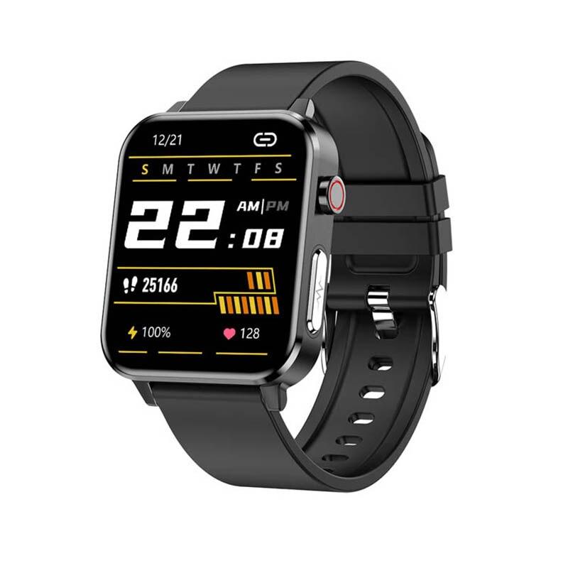 E86 بلوتوث ساعة ذكية ضغط الدم معدل ضربات القلب النوم الصحة رصد سوار الرياضة مقاوم للماء