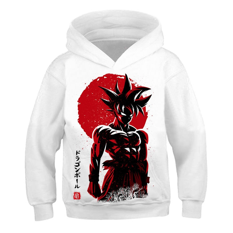 3D Anime Hoodie Dragon Ball Z kids Hooded Sweatshirts Poleron Hombre Street wear children  Dragon Ball children Hoodie boy Coat