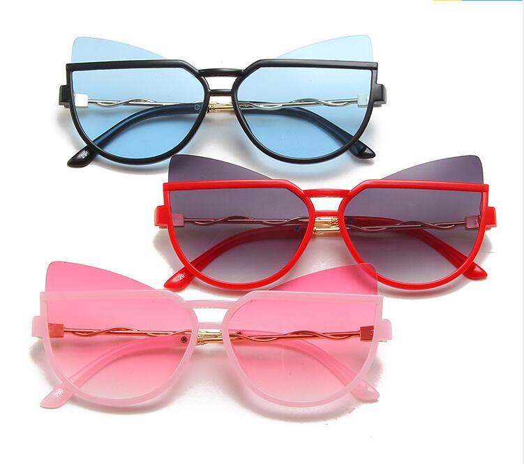girl cat eye Sunglasses Shades For Children Baby glasses For Girls Boys Students Children Lovely Hea