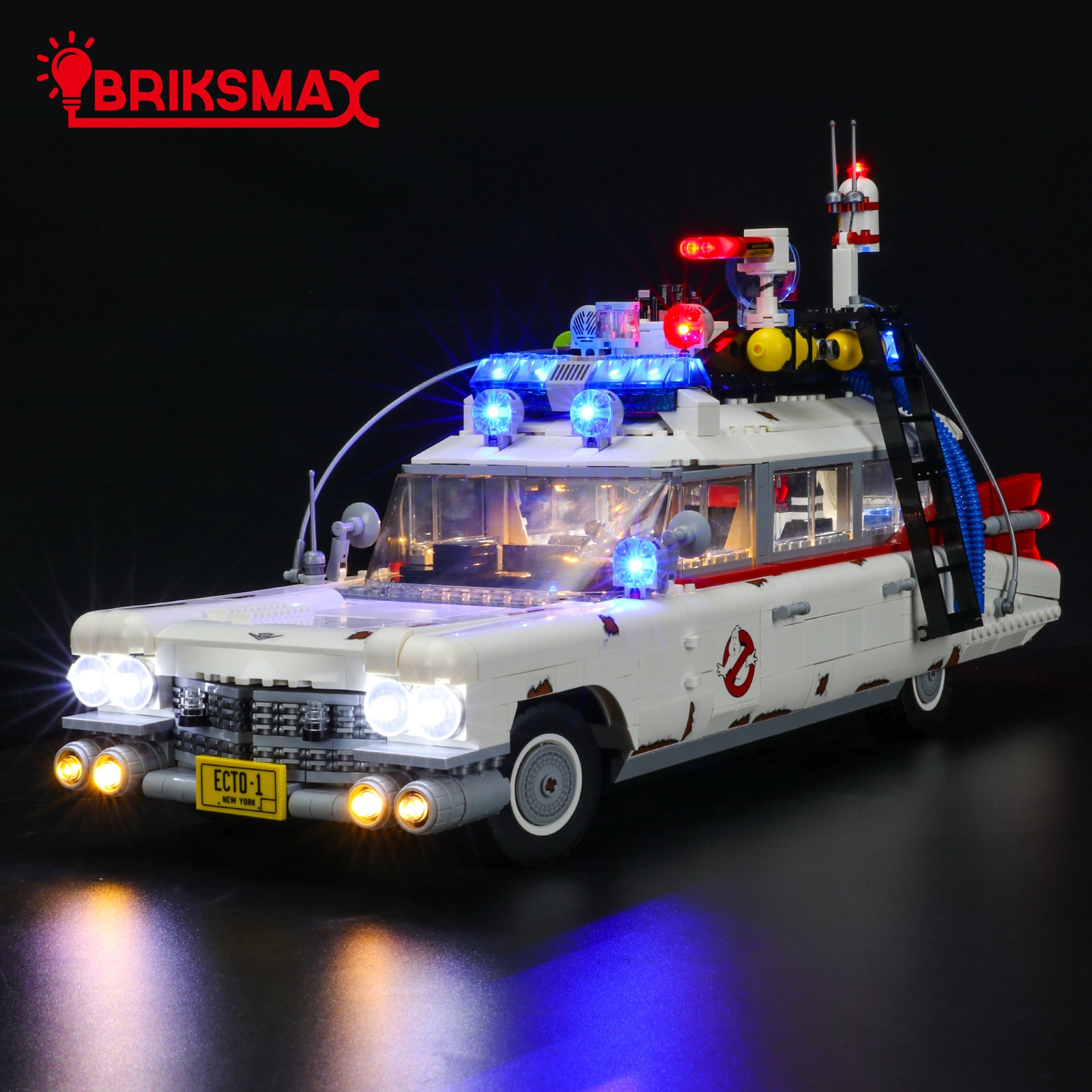 Фото - BriksMax Led Light Kit For 10274 Creator Ghost Busters ECTO-1 ,Not Inlcude The Block Model printio лонгслив ghost busters
