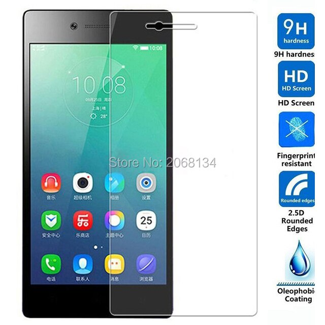 For Lenovo vibe shot Z90 Tempered Glass Original 9H Protective Film Safety Front Screen Protector fo