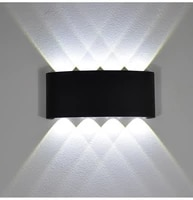 2W 4W 6W 8W 10W 12W MUR LED Lumiere Exterieure Impermeable A Leau de style Nordique Moderne Lampes Murales dinterieur Salon Porche Lampe de Jardin