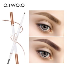 O.TWO.O Eyebrow Pencil Waterproof Natural Long Lasting Ultra Fine Eye Brow Tint Cosmetics Natural Brown Color Brows Make Up