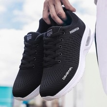Casual Outdoor Sports Mens Fishing Shoes Lace-Up Mesh Breathable Sneakers Running Shoes Comfortable