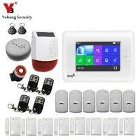 SmartYIBA     systeme dalarme de securite domestique sans fil  wi-fi  GSM  4 3    Anti-vol  Anti-fumee  controle avec application