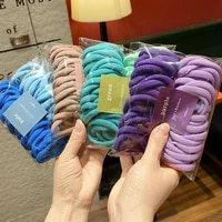 3050pcs elastic hair accessories for women kids black pink blue rubber band ponytail holder for hair ties scrunchies hairband