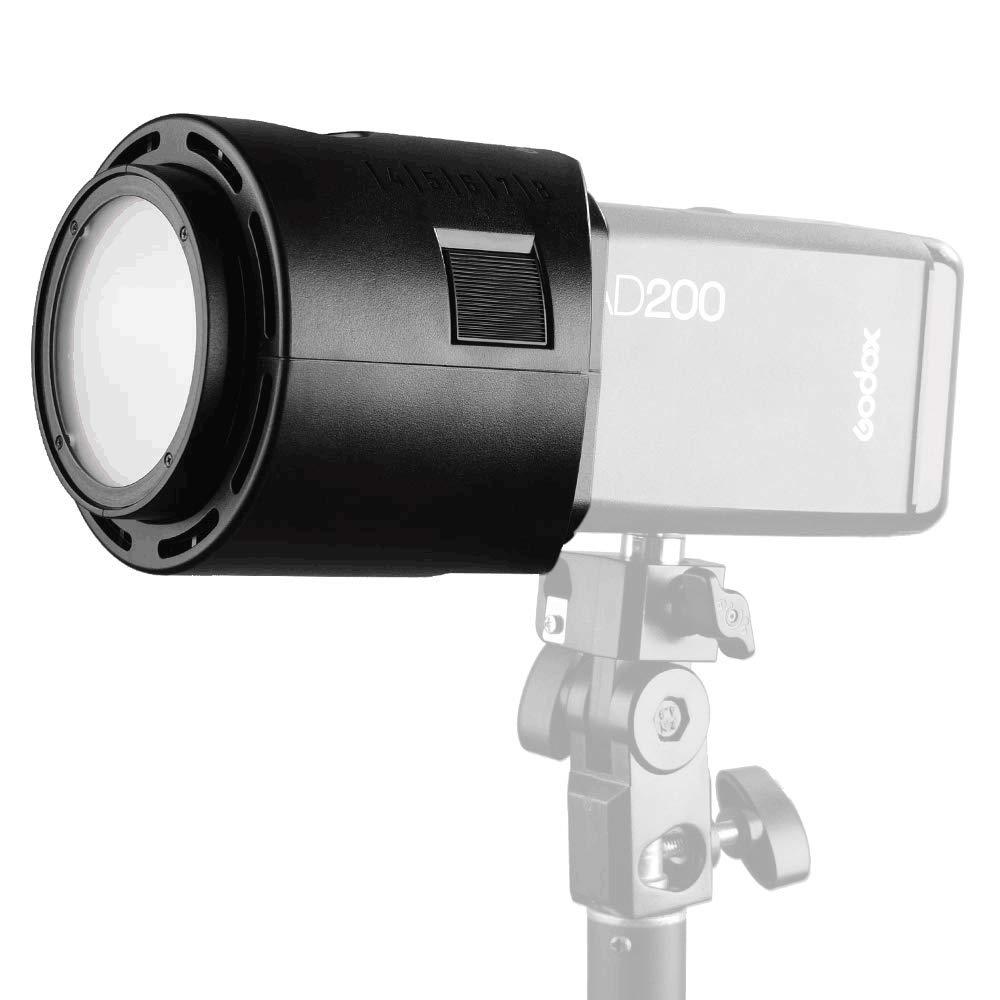 Godox AD-P ad200 ad200pro flash speedlight adaptador para profoto monta acessórios de adaptador de velocidade