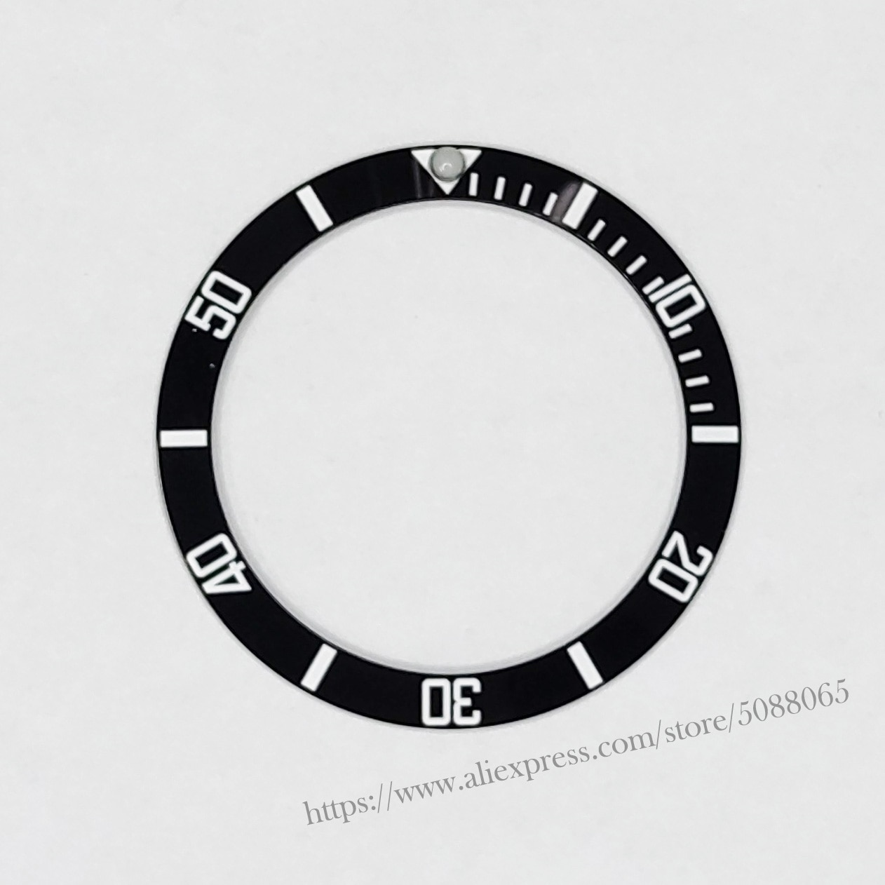 Relógio de Pulso Inserção para 40mm Relógios Substituir Acessórios Rosto Cerâmica Moldura Submariner Automático Masculino Preto – Azul Verde 38mm