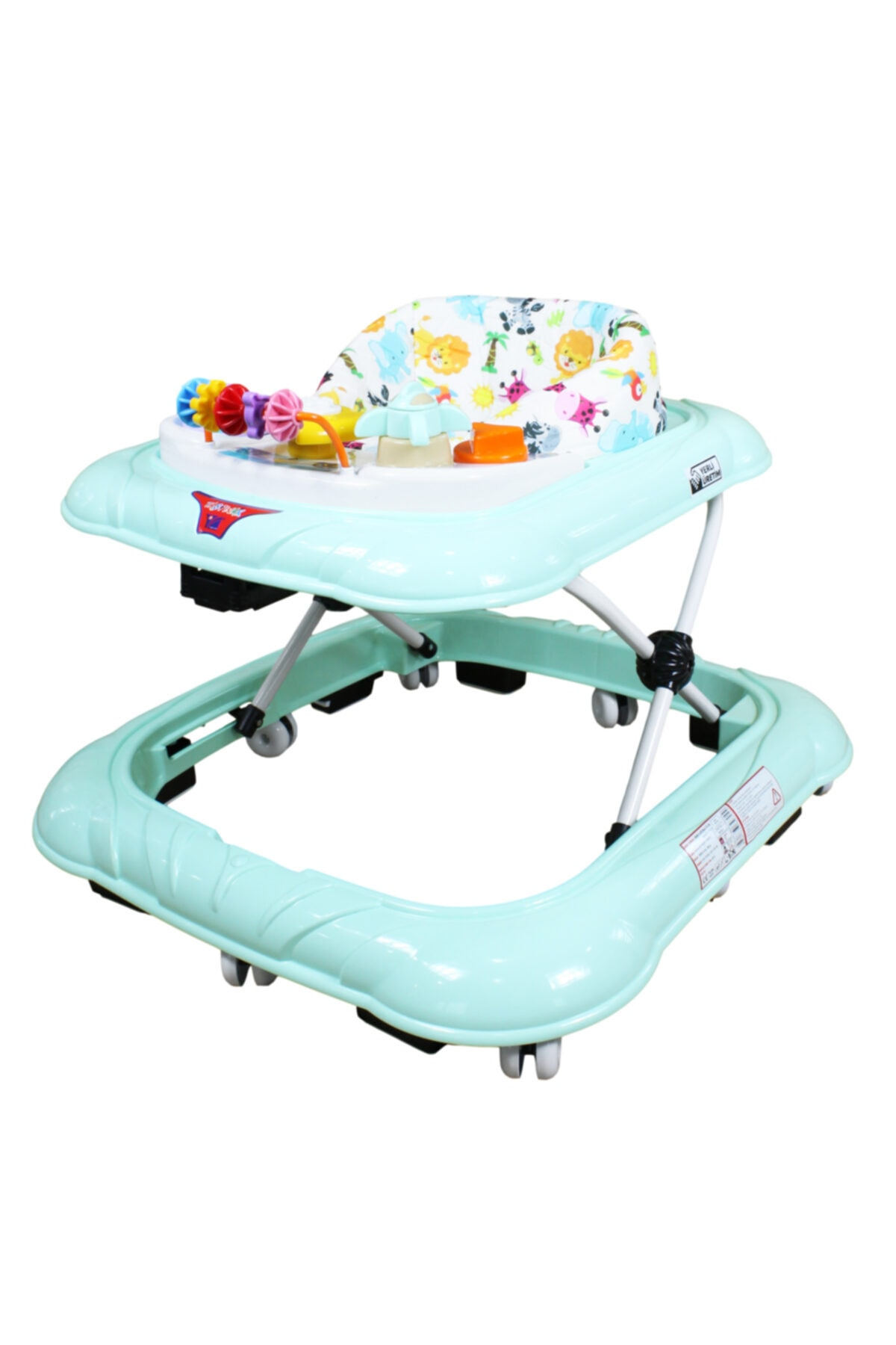 Wheeled Baby Walker Baby Walker Learning Anti Tipping Walker for baby boy Foldable Baby walker wit wheel Wheel Walker Multifunctional Seat Car Baby Walker Multifunction недорого