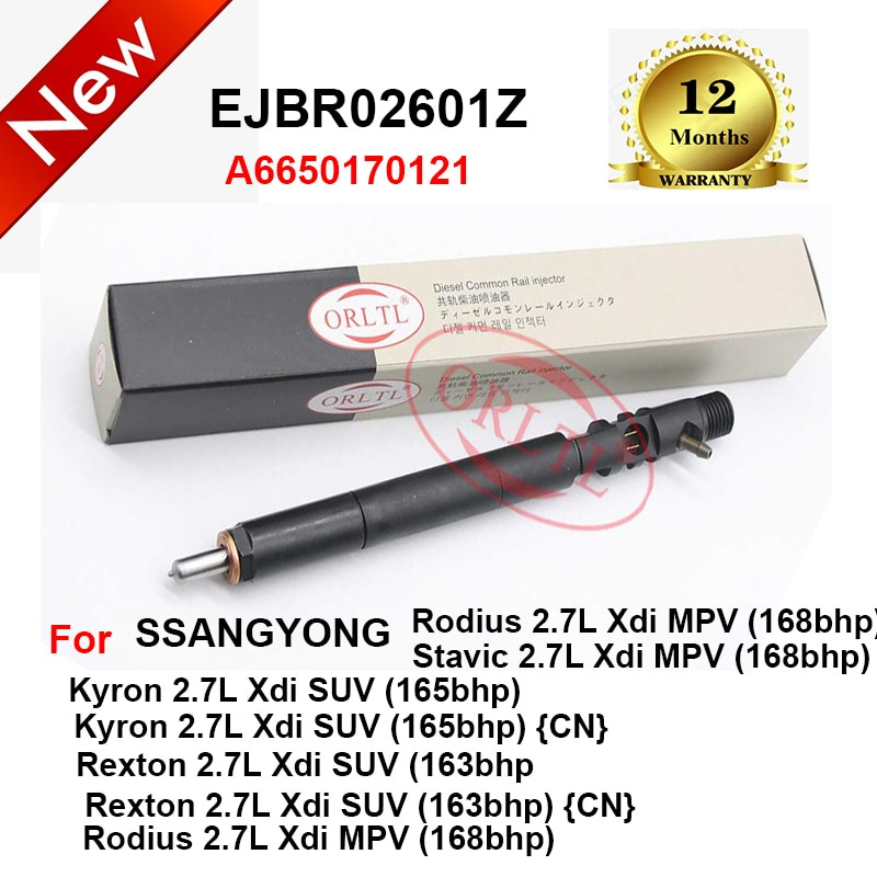 EJBR02601Z A6650170121 الديزل EJBR04501D EJBR03401D حاقن فوهة EJBR04601D EJBR04401D ل ssangيونغ Actyon ريكستون اليورو 3 / 4