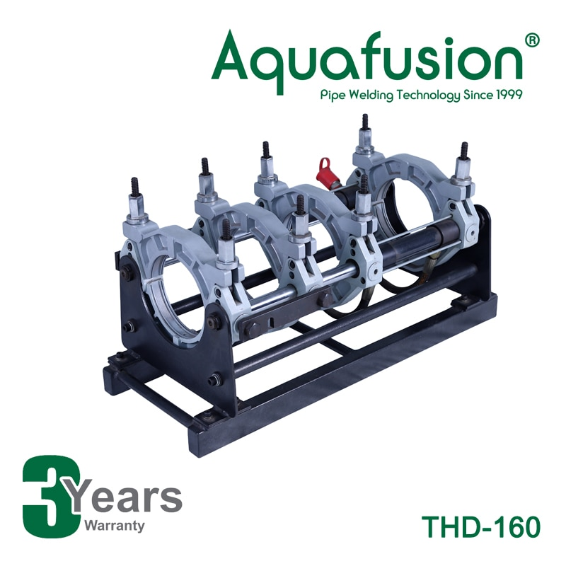Máquina de fusión a tope de tubo de HDPE de gran calidad-máquina de soldadura a tope 160mm