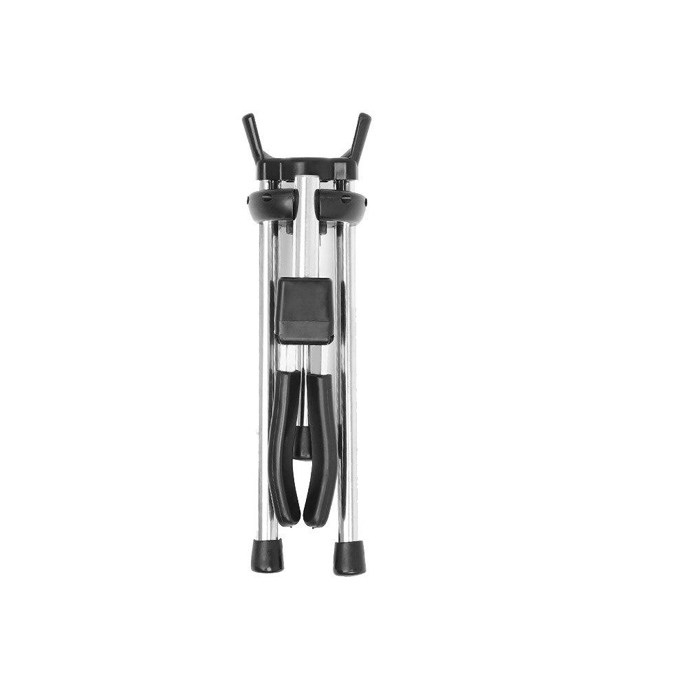 Soporte de saxofón portátil duradero estable plegable instrumento de viento soporte para saxofón soporte trípode