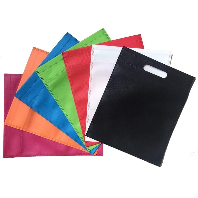 20 штук Новые оптом многоразовые сумки нетканые/сумки для покупок/рекламные сумки с логотипом на заказ