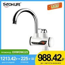 TINTON LIFE Instant Tankless Electric Hot Water Heater Faucet Kitchen Instant Heating Tap Water Heat