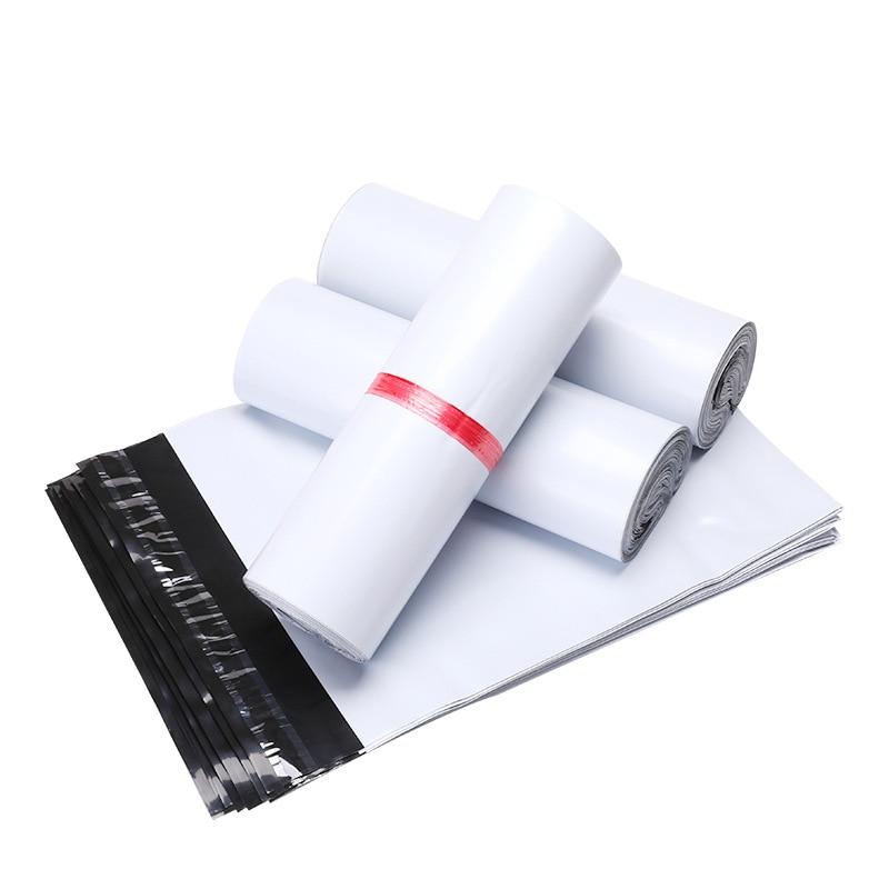 Self-Seal Adhesive Mailing Bags 100Pcs/Lot 34cm*46cm Courier Bag Poly Mailers Plastic Mailing Envelope Bag Express Bag Dropship