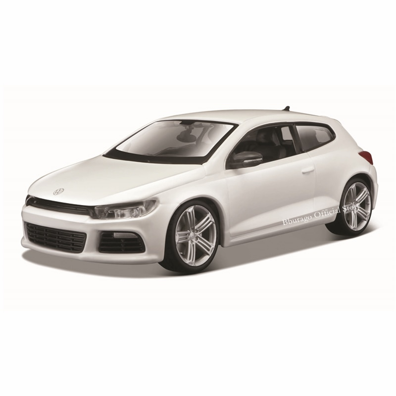 Bburago 1:24 Scale VW Scirocco R alloy racing car Alloy Luxury Vehicle Diecast Cars Model Toy Collection Gift alloy model gift 1 50 scale scania a90 city wide transit bus vehicle diecast toy model for collection decoration