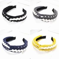 fashion winter women headband wool ripple knot hair hoop headbands hairband for girls hair accessories