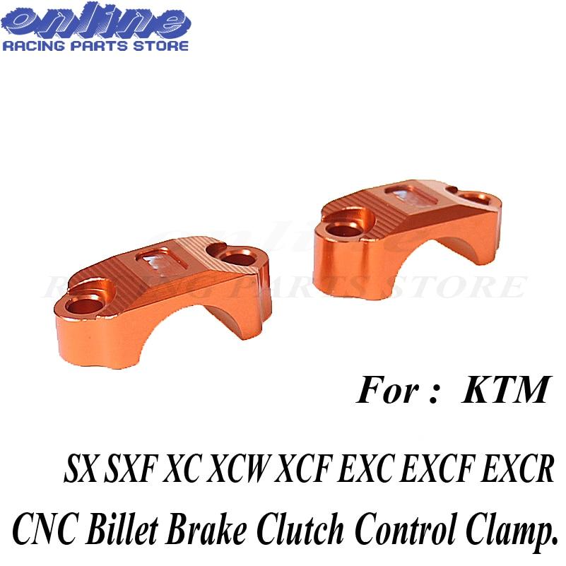Главный тормозной цилиндр сцепления руль зажим держатель для KTM SX SXF XC EXC XCF EXCF 250 350 450 125 85 Бесплатная доставка