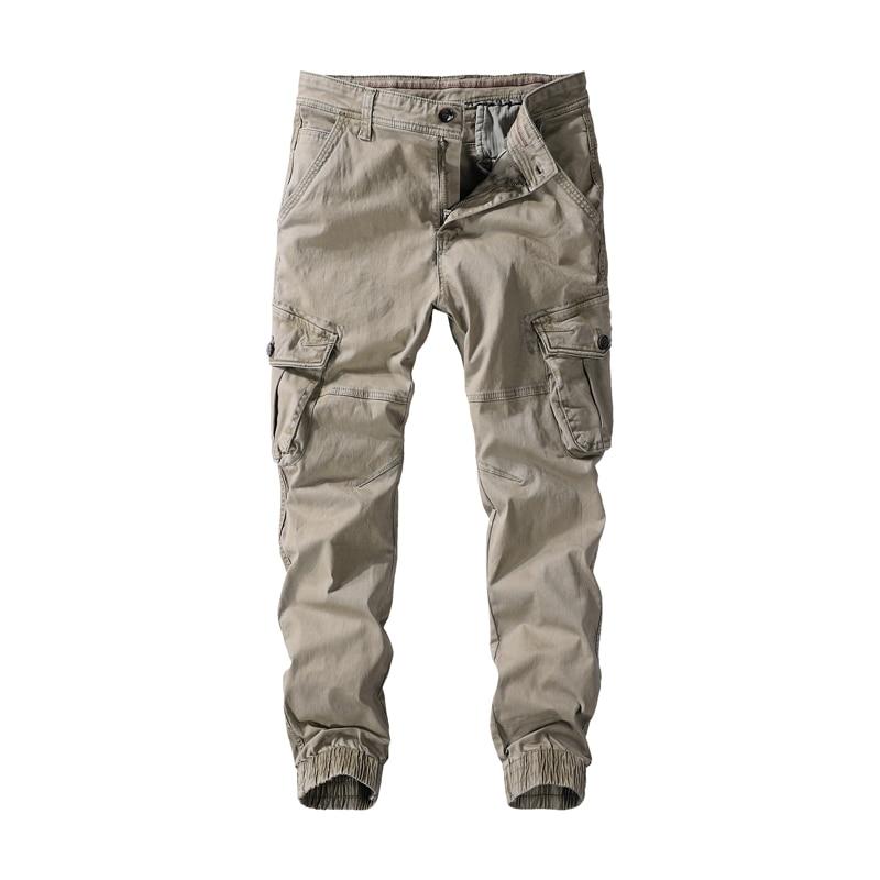 Брюки мужские камуфляжные тактические, Джоггеры в стиле милитари, хлопковые модные штаны-карго, армейские, для страйкбола