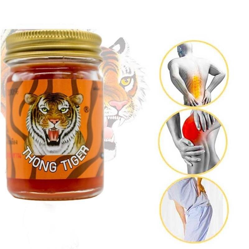100% de 50g Thai Tigre bálsamo ungüento articulación artritis reumatic alivio del dolor crema de cuello hombro Lumbar columna pomada para masaje crema