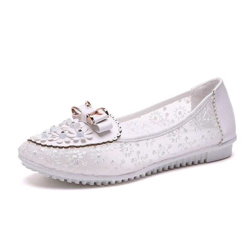 Sandals Women Summer Shoes Breathable Female Shoes Ladies Slip on Flat Platform Sandals Shoes Woman