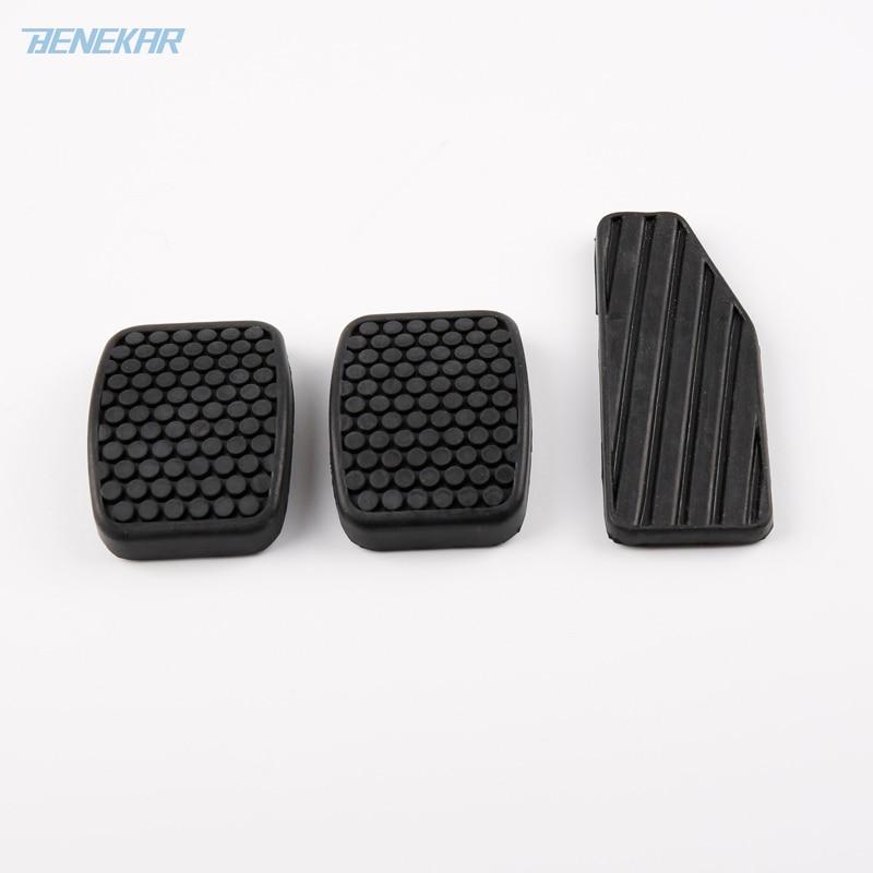 Benekar 3 шт./компл. колодки педали тормоза акселератора резиновая крышка подходит для Suzuki Swift