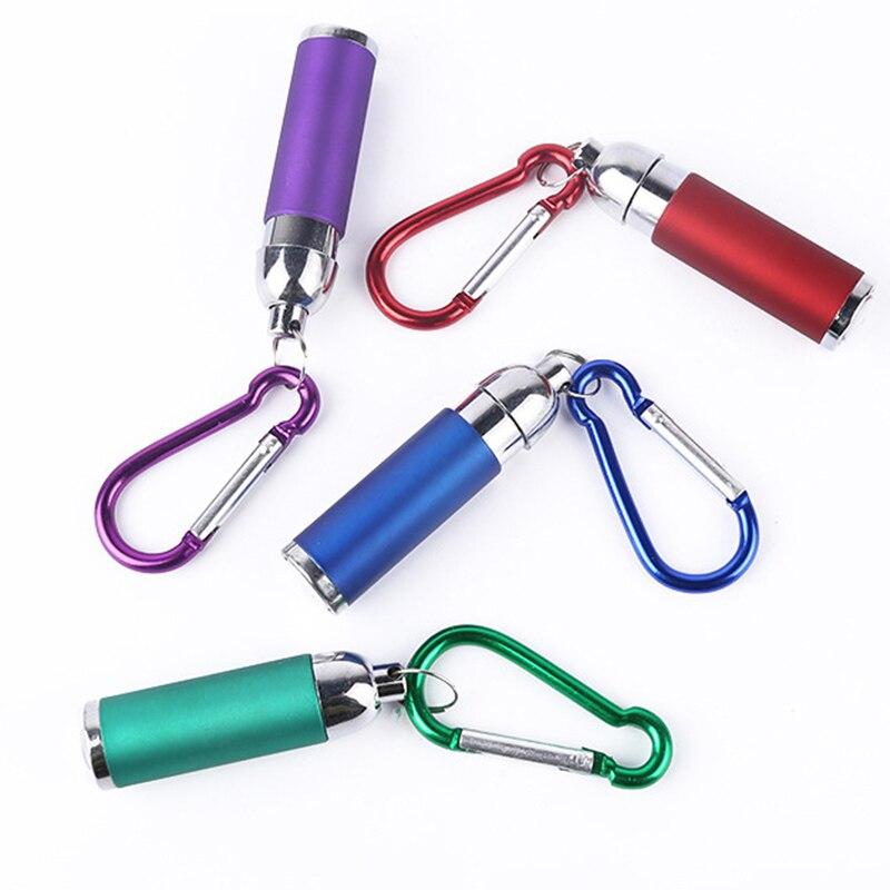 Горячий мини светодиод фонарик фонарик с карабином маленький компактный портативный кемпинг инструмент BJStore