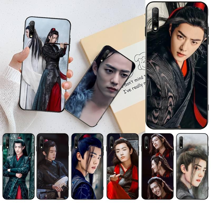 HPCHCJHM ChenQingLing Die Untamed Wang Yibo XiaoZhan Bling Telefon Fall für Huawei Ehre 20 10 9 8 8x 8c 9x 7c 7a Lite sehen pro