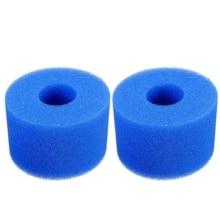 Voor Intex Pure Spa Herbruikbare Wasbare Foam Hot Tub Filter Cartridge S1 Type