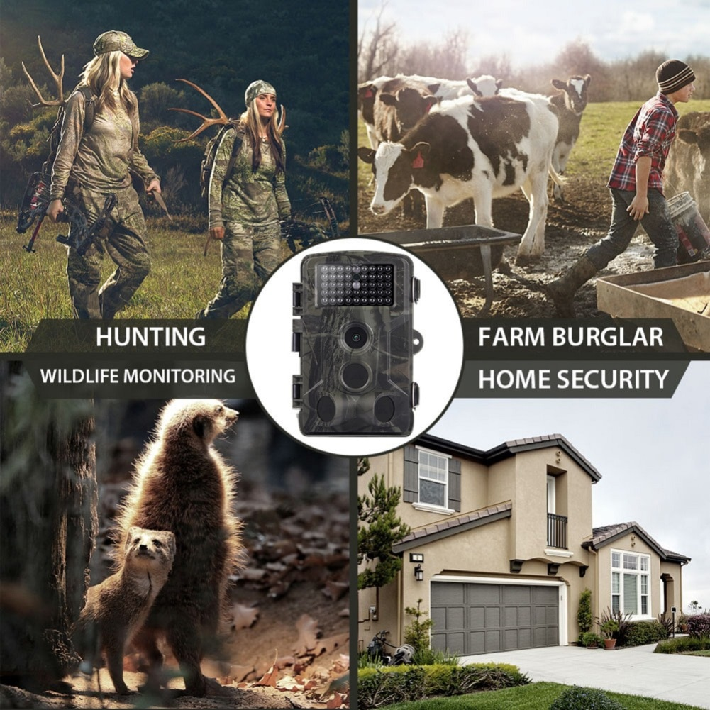 Outdoor Hunting Camera HC802A Waterproof  16MP 1080P 0.5 Seconds Trigger Wildlife Trail Camera
