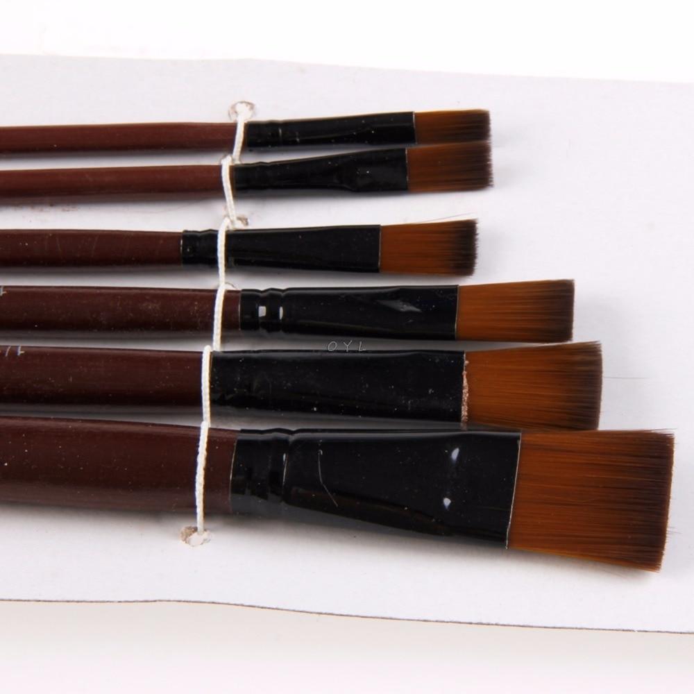 pinceles-de-artistas-de-nailon-acrilico-brochas-para-pintura-al-oleo-suministros-para-artistas-juego-de-acuarela-1-juego-6-uds