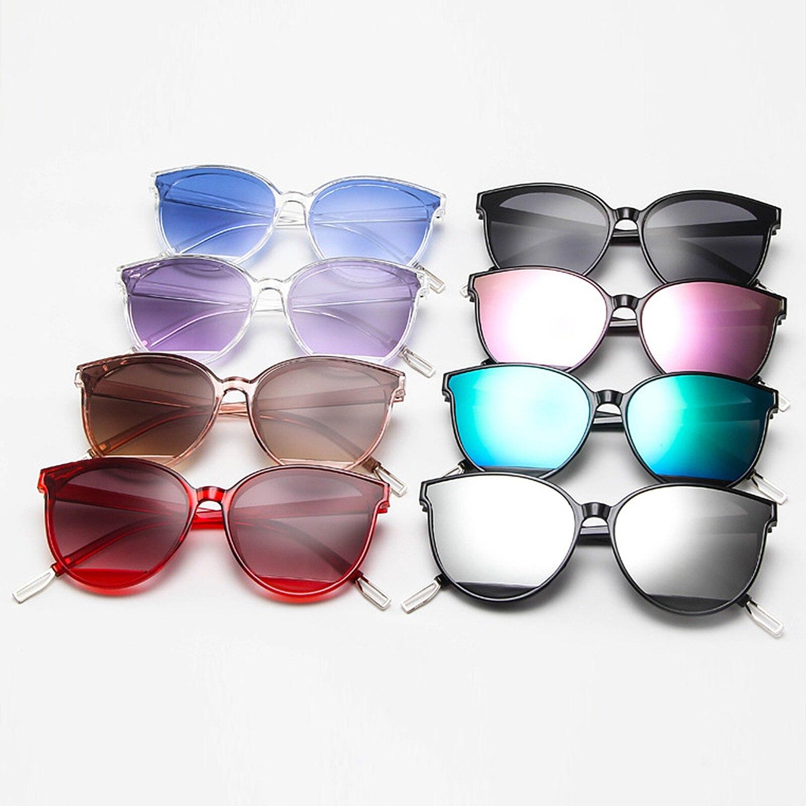 2021 New Arrival Fashion Sunglasses Women Vintage Metal Mirror Classic Vintage Women's Glasses Femal