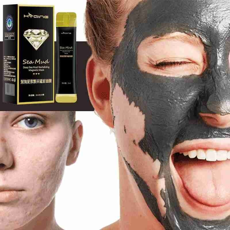 Love Magnetic Mask Deep Cleansing Pore Magnetic Clay Mask Oil Control Anti-acne Fine Cleansing Mask Skin Care Clay Stick Mask innisfree pore clearing clay mask 2x with super volcanic clusters™