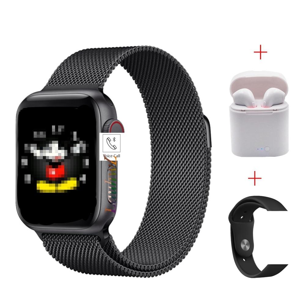 2020 IWO 13 Series 5 T500 Smart Watch Bluetooth llamada reproductor de música 44MM para Apple iOS teléfono Android ritmo cardíaco PK IWO 8 12