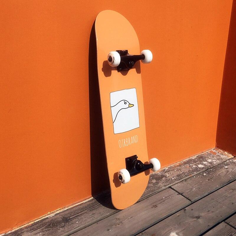 Скейтборд для взрослых и начинающих, модное оборудование, двойной скейтборд, полный скейтборд, скейтборд для девочек, Спорт на открытом воз...