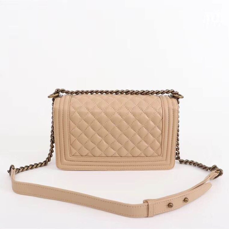 luxury brand rhomboid women crossbody bag high quality goatskin bag 2019 fashion famous old gold chain flap lady shoulder bags